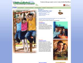 ldsfamilyfun.com screenshot
