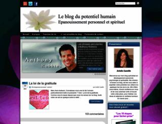 le-blog-du-potentiel-humain.fr screenshot