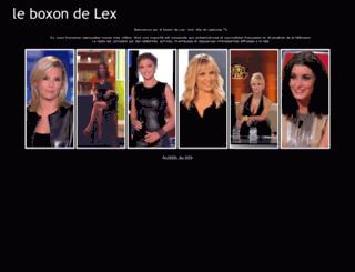 le-boxon-de-lex.fr screenshot