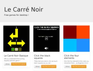le-carre-noir.net screenshot
