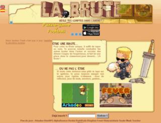 le-feu-follet.labrute.fr screenshot