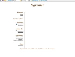 le-grenier-enchante.eklablog.com screenshot