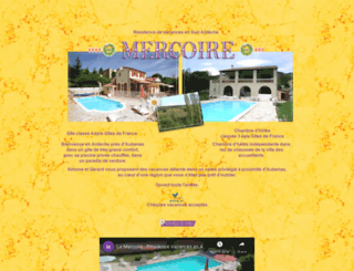 le-mercoire.com screenshot