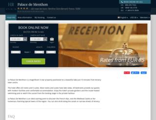 le-palace-de-menthon.hotel-rez.com screenshot