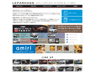 le-parnass.com screenshot