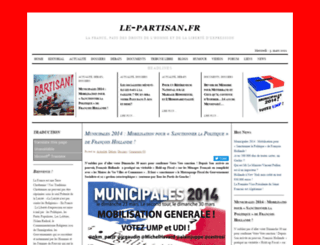 le-partisan.fr screenshot
