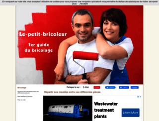 le-petit-bricoleur.com screenshot
