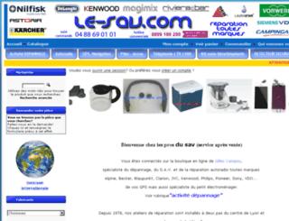 le-sav.com screenshot