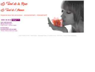 le-tarot-de-la-rose.com screenshot
