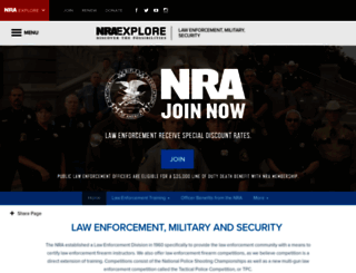 le.nra.org screenshot
