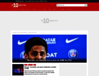 le10sport.com screenshot