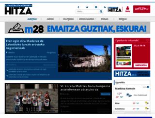lea-artibaietamutriku.hitza.eus screenshot