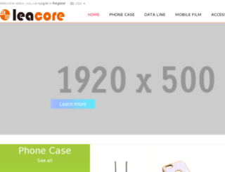 leacore.com screenshot
