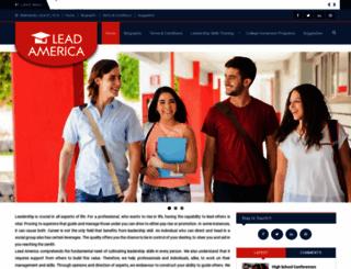 lead-america.org screenshot