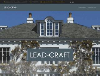 lead-craft.co.uk screenshot