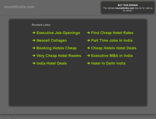 lead.neocellindia.com screenshot