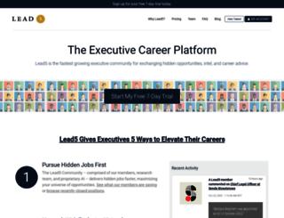lead5.com screenshot
