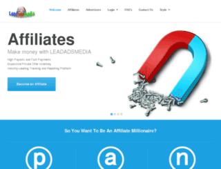 leadadsmedia.com screenshot