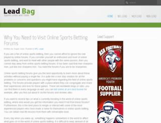 leadbag.com screenshot