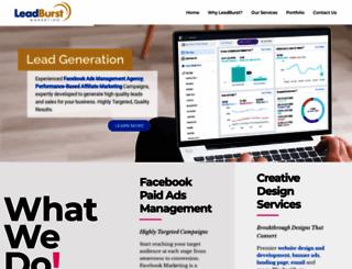 leadburst.com screenshot