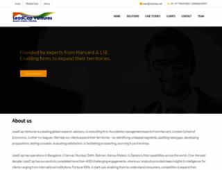 leadcap.net screenshot