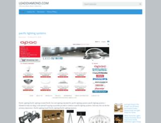 leaddiamond.com screenshot