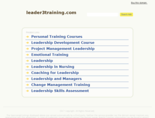 leader3training.com screenshot