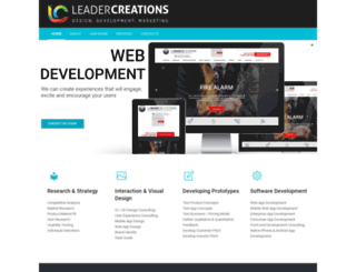 leadercreations.com screenshot