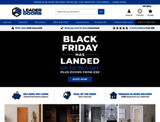 leaderdoors.co.uk screenshot