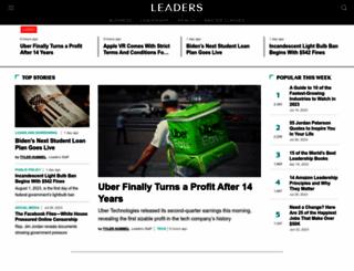 leaders.com screenshot