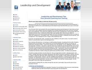 leadership-development-tips.com screenshot