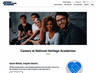 leadership.nhacareers.com screenshot