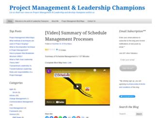 leadershipchamps.wordpress.com screenshot