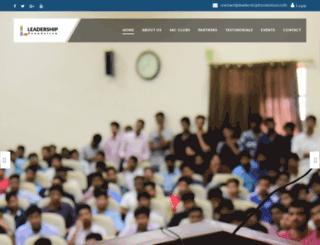 leadershipfoundation.info screenshot
