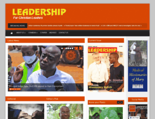 leadershipmagazine.org screenshot
