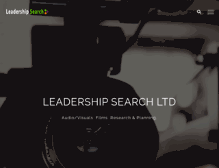 leadershipsearchng.com screenshot