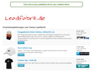leadfabrik.de screenshot