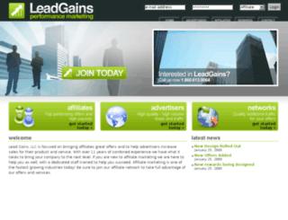 leadgains.com screenshot