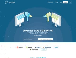 leadgrid.io screenshot