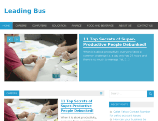leadingbus.com screenshot