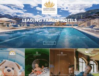 leadingfamilyhotels.com screenshot