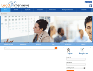 leadinterviews.com screenshot