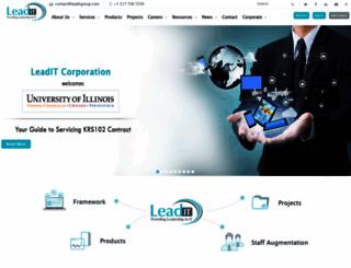 leaditgroup.com screenshot