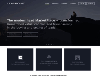 leadpoint.com screenshot