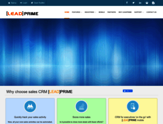 leadprime.com screenshot