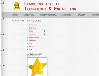 leads-india.org screenshot