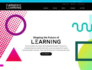 leads.carnegielearning.com screenshot