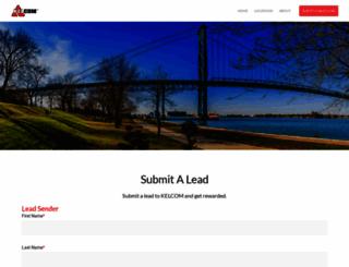 leads.kelcom.com screenshot