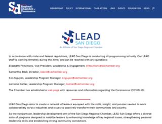 leadsandiego.org screenshot
