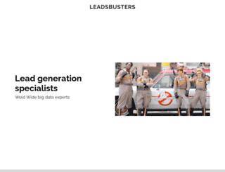 leadsbusters.com screenshot